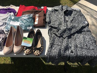 LOT Wholesale Women's Clothes Apparel for Resale Swapmeets Stores, ALL NEW
