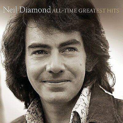 Neil Diamond CD All-Time Greatest Hits Singer Songwriter Rock New Free Shipping