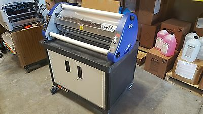 "ARL2700 27"" Digital Roll Laminator w/Fans and Cabinet"