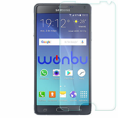 Tempered Glass Film Screen Protector For Samsung Galaxy Note 4 SM-N910F