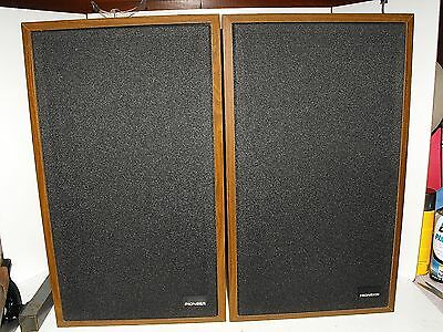 Pioneer SCS-13 Speakers Rare 70s Audiophile Japan In Mint Condition G.W.O