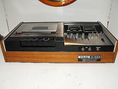 Teac A-350 Dolby Cassette Deck Rare 70s Audiophile Japan In Mint Condition