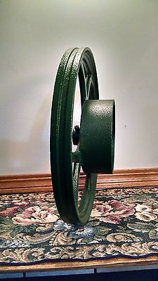 Antique Dual Pulley For Hit And Miss Engine ??  Very  Good  Condition