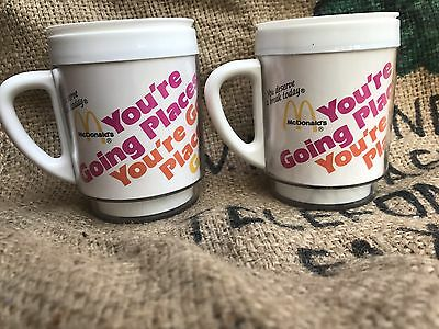 Advertising Insulated Mug Cup McDonald's PM Magazine Your Going Places VTG