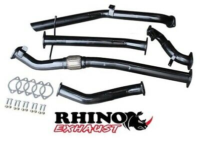 """Nissan Navara D22 3L Td 3"""" Inch Turbo Back Exhaust System With Pipe Only"""