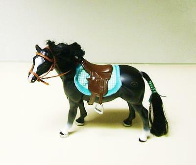 Empire Grand Champions Horse - Black - with Saddle Bridle & Blanket