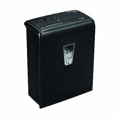 Fellowes Powershred H-6C 6-Sheet Cross-Cut Paper and Credit Card Shredder with