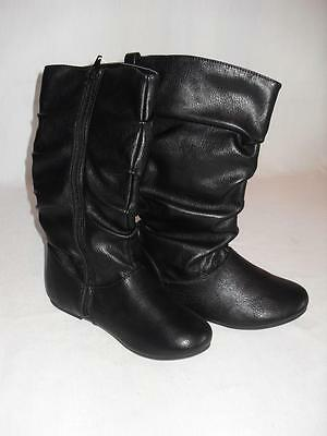 New Girl's The Children's Place Boots - Black - Size 1Y - NWT ($29.95)
