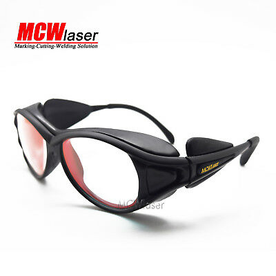 10x Laser Protection Goggles Safety Glasses for 808nm 830nm 850nm IR Infrared