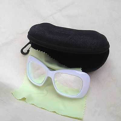 10x IPL Safety Goggles Protection Glasses 400nm-700nm For IPL Beauty White