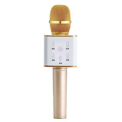 Q7 Bluetooth Microphone Wireless KTV Speaker Karaoke Player Mic for Android BX