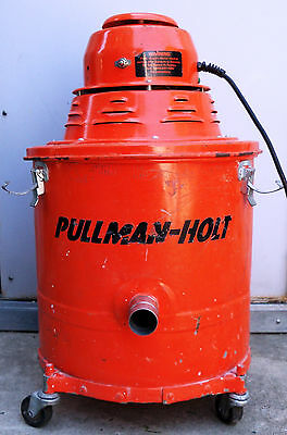 Pullman Holt Hepa Dry Vacuum 5 gal. Commercial Compact Caster w/o Tools