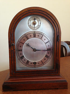 Antique 20th Century German Mantle Clock Winterhalder & Hoffmier Sch Working