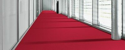 Clearance - Carpet Tile,  Pvc Free, Red, $33.00 Per Sq M