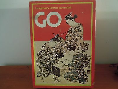 VINTAGE  GO Legendary Oriental Game of Skill Board Game