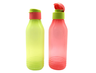Tupperware Fridge Eco H2O Water Bottle Beverage Container 2.0L Limited Free Ship
