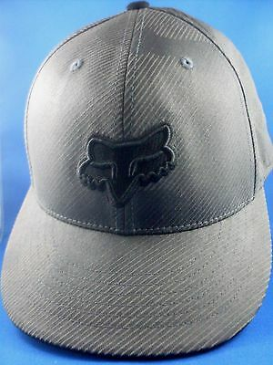 FOX RACING 6 7/8 - 7 1/4 FLEXFIT 210 FITTED Men's EMBROIDED Baseball Cap ManCave