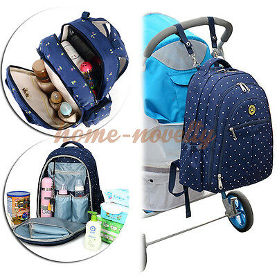 Multifunctional Baby Diaper Backpack Bag Mummy Mother Nappy Changing Handbag New