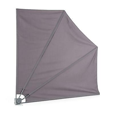 Garden Patio Side Awning Terrace Blind Easy Install Wall 140 X 140 Cm *free P&p*
