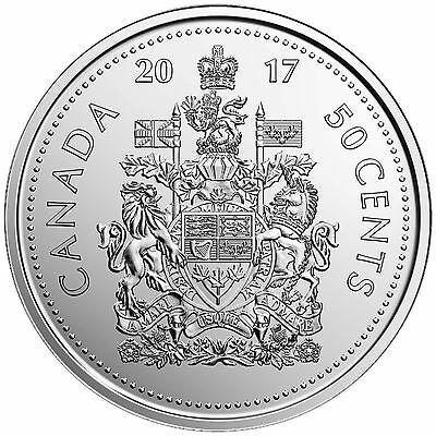 2017 Canadian/canada - Coat Of Arms - 50 Cent Coin Unc (Limited Time Special)