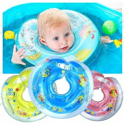 Baby BB Swimming Neck Float Inflatables Ring Adjustable Safety Aids 1-18 Months