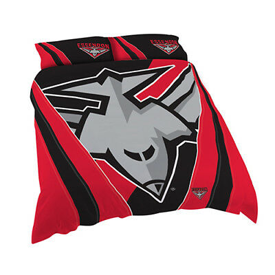 Essendon Bombers 2017 AFL Quilt Cover Set Single Double Queen King Pillowcase