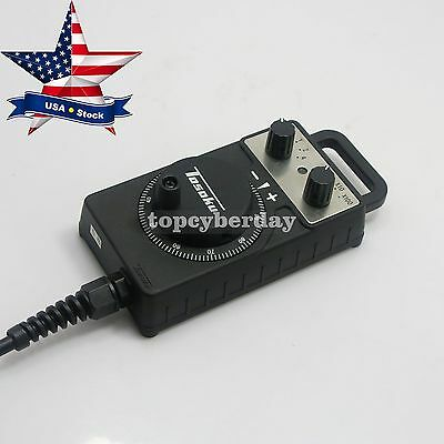 TOSOKU HC115 CNC Handwheel Handle Manual Pulse Generator Pendent for FANUC USA