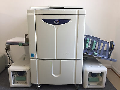 RISO EZ591 Digital Duplicator with 3 Color Drums 11 x 17 & low useage