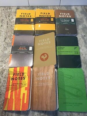 Field Notes Furrow Books LatLong Notebook Memo Book Lot Utility Two Rivers NEW