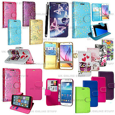 Luxury Magnetic Flip Cover Stand Wallet Leather Case For Samsung Galaxy J3 2016