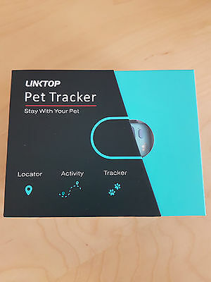 Pet Locator and Activity Tracker Dog Collar with GPS+GSM+WiFi