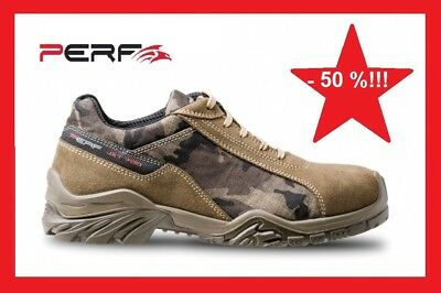 MENS SAFETY SHOES PERF FLANKER Toe Cap Mens S1P New Size
