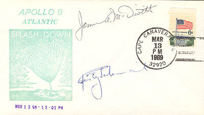 JAMES A. McDIVITT - SPECIAL COVER SIGNED CO-SIGNED BY: RUSTY SCHWEICKART
