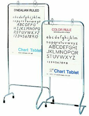 Pacon 74400 Chart Stand, Polished Chrome, Non-Adjustable ~ Free Shipping