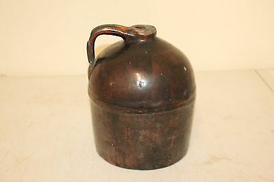 Vintage Primitive Southern Pottery Beehive Moonshine Whiskey Jug Stonewear