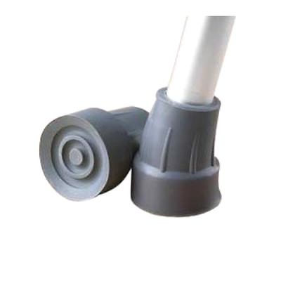 Medline Crutch Tips, Grey, Large - Free 2 Day Shipping