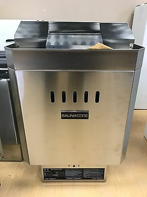 Canadian Made Rock Sauna Heater with Controls 4KW