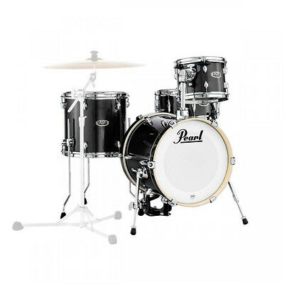 Pearl Midtown Black Gold Sparkle batteria acustica