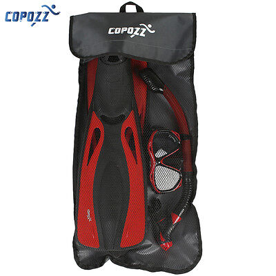 Copozz Backpack Gear Bag Mesh Carry Bag for Scuba Dive Snorkeling Mask Tube Fins
