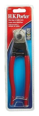 "HK Porter 0690TN 7-1/2"" Pocket Wire Rope & Cable Cutter"