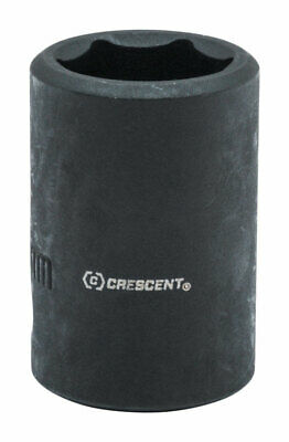 Crescent  21 mm  x 1/2 in.  Metric  6  1 pc. Impact Socket