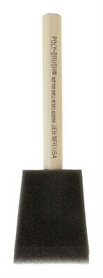 "Jen Poly Foam Brush All Paints 2 "" Pack of 48"