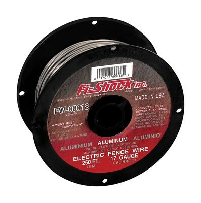 Fi-Shock Electric Fence Wire 250 ' Aluminum