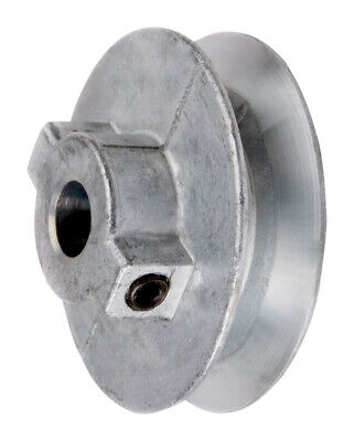 "Chicago Die Cast Single V Grooved Pulley A Belt w 4"" Dia X 3/4"" Bore Bulk"