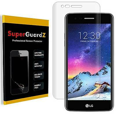 3X SuperGuardZ® Clear FULL COVER Screen Protector Guard Shield For LG K8 (2017)