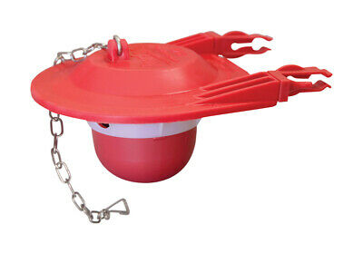 """Korky Flapper 3 """" Rubber Red"""