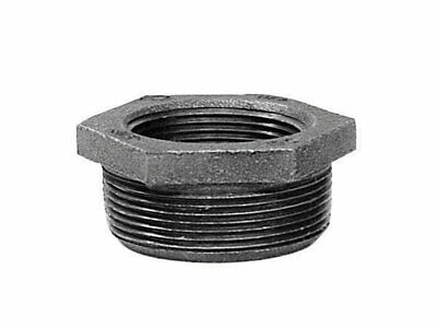 "B & K Hex Bushing Galvanized 1 "" X 1/4 "" Malleable Iron Pack of 5"