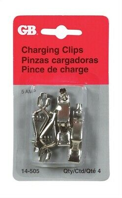 Gb Battery Charging Clips Crimp 4 / Card
