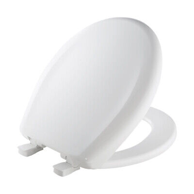 Mayfair Round Toilet Seat Molded White