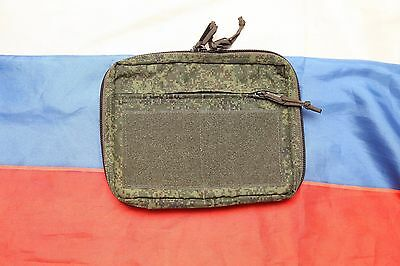 Russian army tactical large utility admin pouch Techincom digital flora EMR